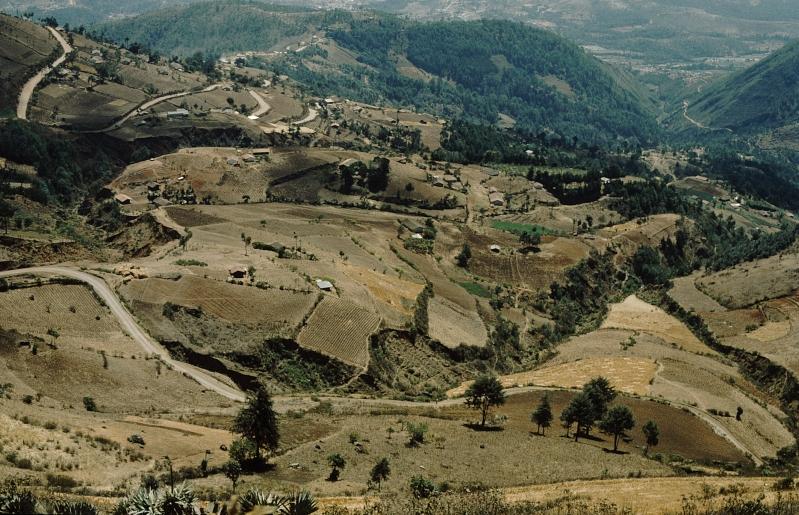Landschaft bei Todos los Santos, Guatemala 1996